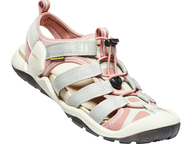 Keen Clearwater II CNX Sandals Women desert sage/brick dust